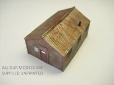 OO Model railway buildings. Timber Scout hut or small workshop.(0168)