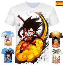 dragon ball z son goku bola de dragón anime camiseta de manga corta traspirable