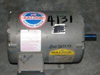 Baldor 1/4 Hp  - Aom34554 -208- 230/460 - 48 Frame - 1725 Rpm - Tenv - New Surpl