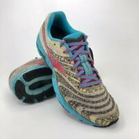 Mizuno Wave Sayonara 2 Running Shoes Womens Size 8 EUR 38.5 White Blue Purple