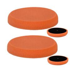 Vossner ® Éponge de polissage x2 Orange moyen 150 mm Accessoires Pad pour Machine de polissage