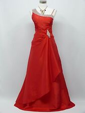Cherlone Red Long Ballgown Wedding/Evening Formal Party Bridesmaid Dress 16-18