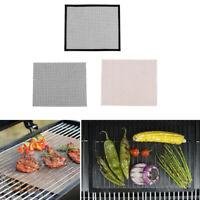 BBQ Grill Mesh Mat Non Stick Barbecue Cooking Mat Fiberglass Grilling Sheet