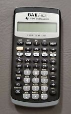Texas Instruments TI-BA II Plus Business Analysis Calculator, works tested
