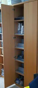 Ikea Bonde bookcase/multimedia storage with doors