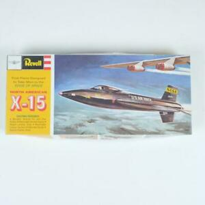 Revell North American X-15 Jet Aircraft Scale Plastic Model Kit H-164