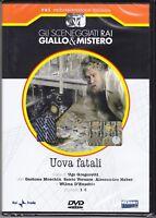 Dvd Sceneggiati Rai UOVA FATALI di U.Gregoretti con G.Moschin H.Haber nuovo 1977