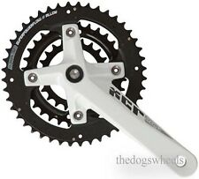 Suntour XCR MTB Triple Chainring Chainset Crankset Bicycle Bike 9sp 22/32/44T