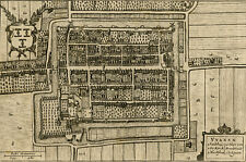 Antique Plan-VIANEN-UTRECHT-NETHERLANDS-Blaeu-1649