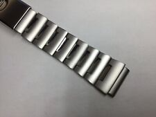 20MM 316L STAINLESS STEEL SOLID BAND BRACELET FOR SEIKO MONSTER DIVER SKX