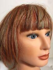DATELINE Hair Mannequin 'Kim'Multicoloured Short100% Human Hair Hand Implanted