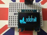 "Yellow Blue 128X64 OLED LCD LED Display Module For Arduino 0.96"" I2C IIC Serial"