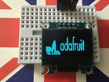"Amarillo Azul 128X64 OLED LCD LED Módulo de pantalla para Arduino 0.96"" I2C serie IIC"