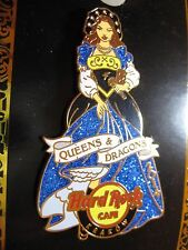 KRAKOW,Hard Rock Cafe Pin,Queens and Dragons Blue