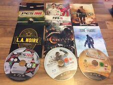 PS3: LOT DE 9 JEUX EN LOOSE        (lot 25)