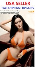 Phicen 1/6 Scale Seamless female body w/ head Large Bust in PALE PLLB2014-S07