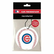 Chicago Cubs Air Freshener - Clean Fresh Scent 3 Pack