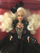 Happy Holiday Barbie 1991 Blonde Hair/ Velvet Dress