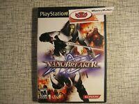 NanoBreaker PS2 PlayStation 2 Nanotech Sci-Fi Beat 'Em Up Game