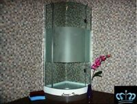 Duschabtrennung Glasdusche Dusche JN-HO12H 90x90cm