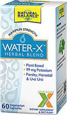 Natural Water Pills - 60 Capsules - Maximum Strength Water-X Herbal Blend