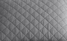 Pottery Barn Belgian Flax Linen Diamond King/Cal King Quilt ~ Flagstone Gray
