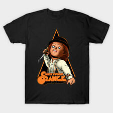 Chuckywork Clockwork Orange Crime Killer Horror Mashup Movie Black T-shirt S-6Xl