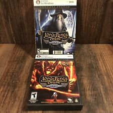 Lord of the Rings Online MORIA / ANGMAR Complete Edition Window PC COMPLETE 2007
