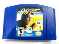 007 The World Is Not Enough - N64 James Bond Game Blue Tested Working Authentic!