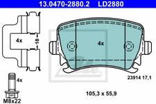 Ate CERAMIC Bremsbelag HA für VW/AUDI A3/TOURAN/CADDY3 - 13.0470-2880.2