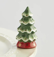 NORA FLEMING CHRISTMAS TREE MINI O TANNENBAUM A173 Platter Charm NEW