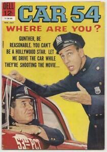 CAR 54, WHERE ARE YOU No. 5 Dell May 1963 Fine+ TV SitCom Fred Gwynne Joe E Ross