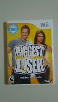 THE BIGGEST LOSER: REAL FUN. REAL RESULTS! (Nintendo Wii, 2009) COMPLETE & TEST!