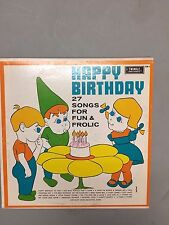 Happy Birthday 27 Songs For Fun And Frolic Twinkle Records