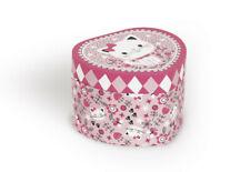 Janod Spieluhr und Schmuckkästchen mit Herz Spieldose für kleine Schätze J02999