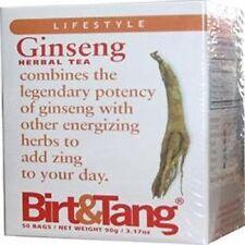 Birt & Tang Ginseng Thé 50 thé sachets