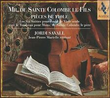 Mr. De Sainte Colombe Le Fils: PiŠeces de Viole (CD, Oct-2003, 2 Discs Alia Vox)