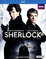 Sherlock: Season 3 (Blu-ray) (Original UK Version), New DVD, Lindsay Duncan, And