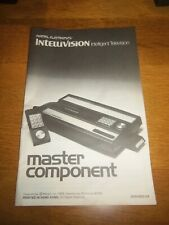 Mattel Intellivision Console Instruction Manual ONLY
