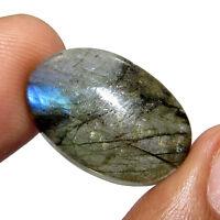 16.30Ct.  Beautiful Natural Oval Cabochon Labradorite  Gemstone stone-CH 3910