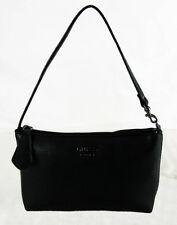 ** GUESS Black Faux Pebble Leather Handbag/ Wristlet