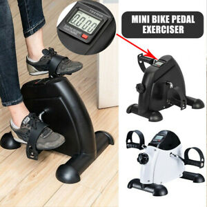 Home Office Mini Cycle Pedal Exerciser Exercise Bike Arm Leg Workout Fitness Gym