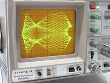 HAMEG HM203 -5 GM/93 Nachleucht- Oscilloscope mit Kennlinienschreiber Tastköpfe