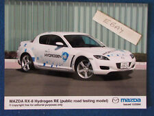 "Original Press Promo Photo - 8""x6"" - Mazda - RX-8 Hydrogen RE - 2004"