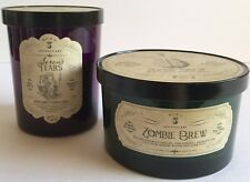 HAVEN STREET SIRENS TEARS ZOMBIE BREW SOY WAX HALLOWEEN SCENTED CANDLES