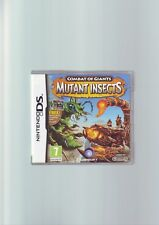 COMBAT OF GIANTS : MUTANT INSECTS - DS GAME / LITE, DSi, 3DS - COMPLETE - VGC