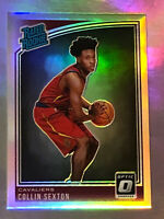 2018-19 Donruss Optic Collin Sexton # 180 Rated Rookie Silver Holo RC Cavaliers