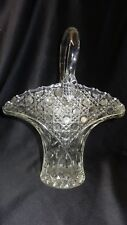 LE Smith Crystal Glass Innovation Buttons Stars Leaves Basket Vase