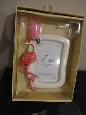 IMAGES PHOTO FRAME DECORATIVE PINK OSTRICH 4 X 6