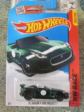 Hot Wheels 2015 #185/250 2015 JAGUAR F-TYPE Racing green New Casting Long Card